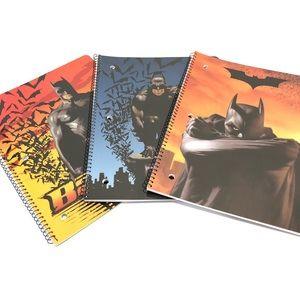 Batman Begins Spiral Notebooks Set of 3